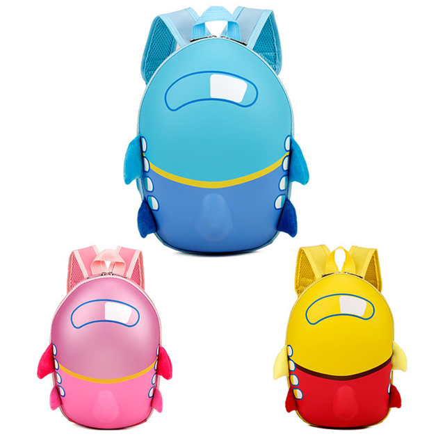 Osgoodway1 New Products 3D EVA Pattern Child Backpack kids School bags for Girls