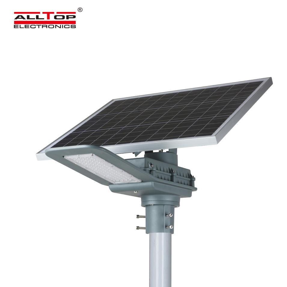 ALLTOP High brightness ip65 waterproof outdoor lighting smd 40w 90w led solar street light