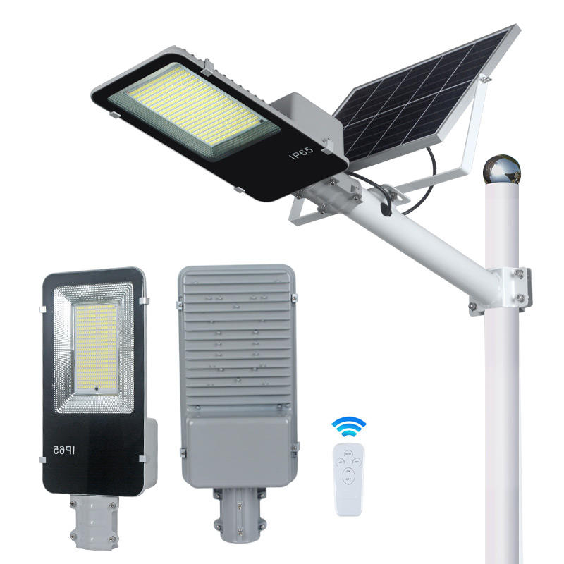 ALLTOP Best selling waterproof ip65 200w outdoor lighting solar lamp led street with remote control