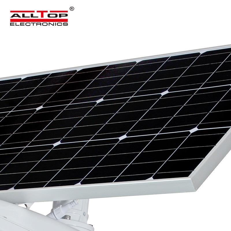 ALLTOP IP65 Outdoor waterproof integrated fixture road lighting 50 watt solar street light