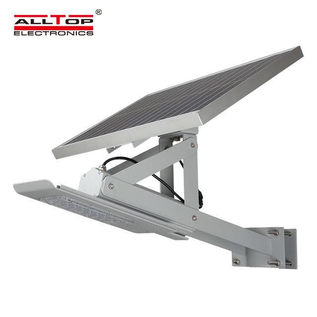High quality outdoor waterproof ip66 Aluminum solar led street lamp 24w 36w