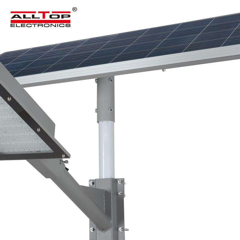 ALLTOP High power outdoor IP65 3 years warranty outdoor MPPT sensor 180watt solar led streetlight