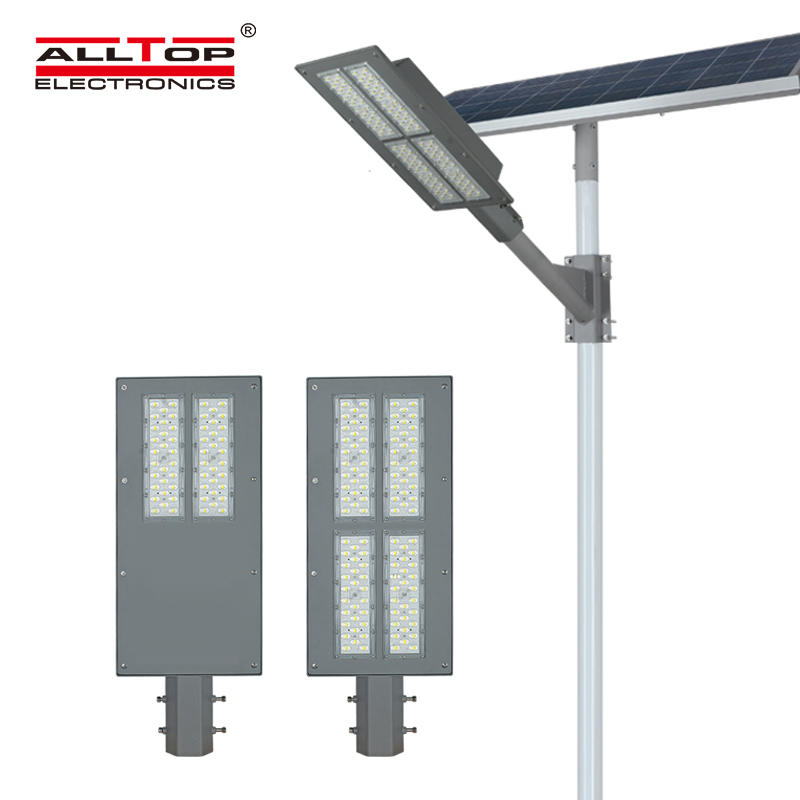 ALLTOP High quality aluminum outdoor IP65 waterproof smd 90w solar led street light