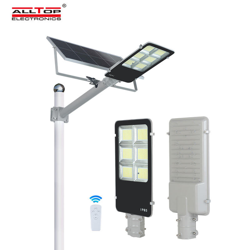 ALLTOP Best quality 150w waterproof ip65 smd integrated solar led street lights price