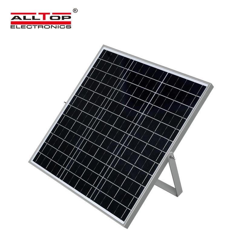 ALLTOP High quality super brightness outdoor garden lighting waterproof ip65 smd 50w solar led street light