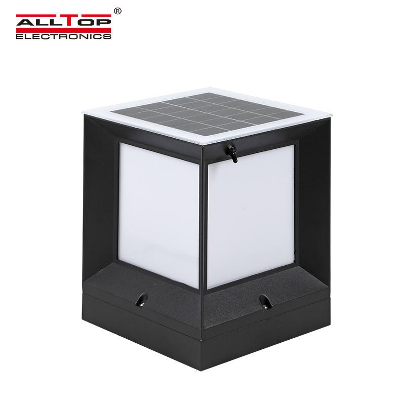 ALLTOP Competitive price garden light solar outdoor all in one 5w LED solar garden light waterproof
