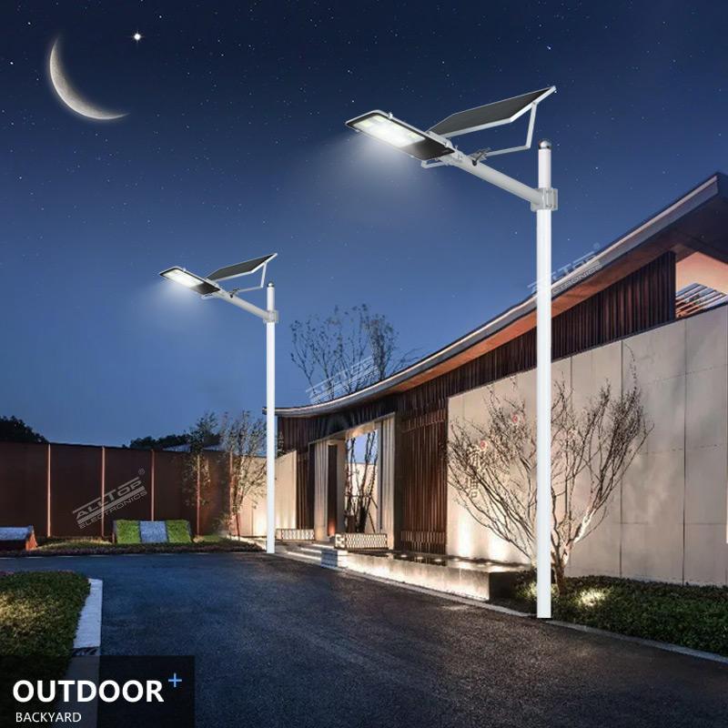 ALLTOP High lumen Bridgelux smd IP65 waterproof outdoor 100w integrated solar led street light