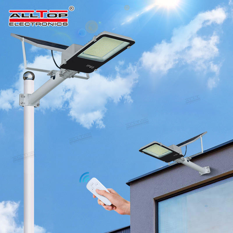 ALLTOP High quality garden lighting Bridgelux smd outdoor ip65 300w led solar street light