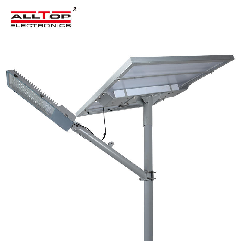 ALLTOP High power garden waterproof outdoor integrated 90w 120w 150w 180w IP65 solar led street light