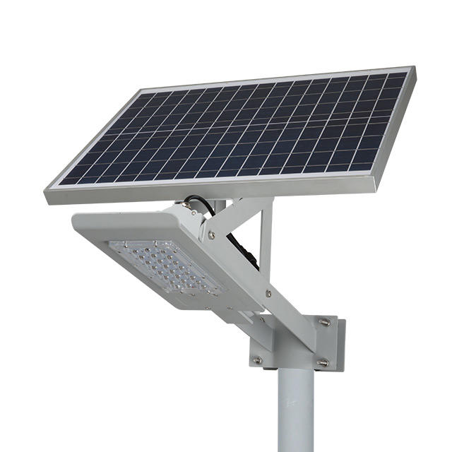 High quality outdoor waterproof ip66 Aluminum solar led street lamp 24w 36w