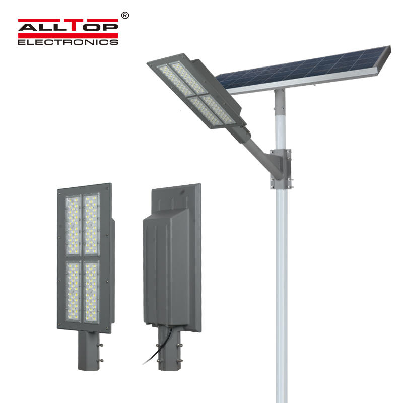 ALLTOP Modern design outdoor waterproof highway lighting ip65 smd 180w solar led street light