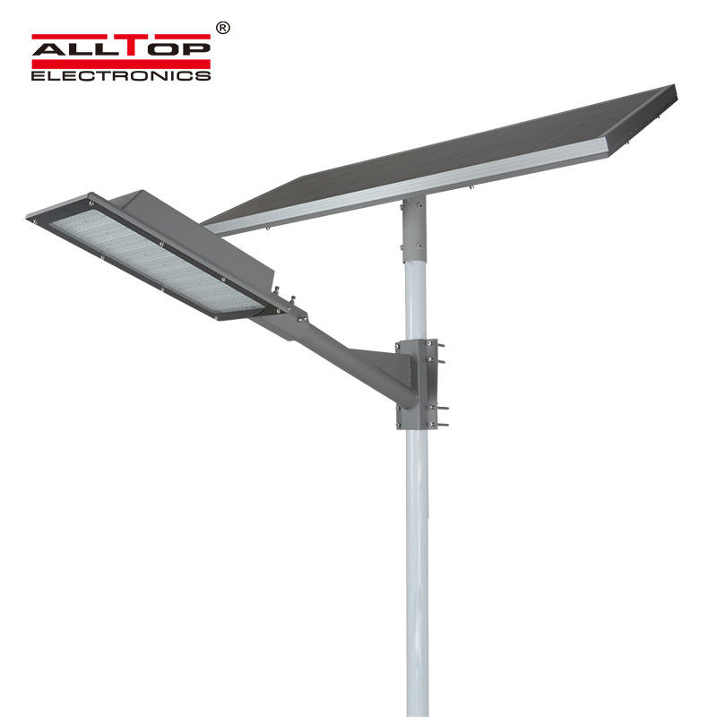 ALLTOP Ultra high brightness led chip ip66 waterproof 180w led solar street light