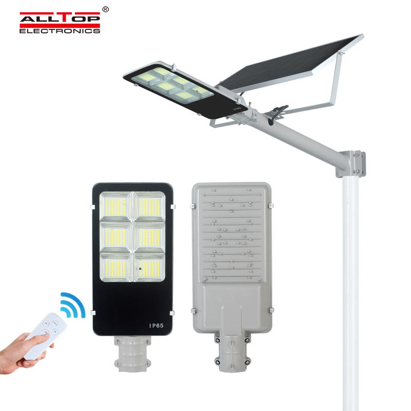 ALLTOP 3 Years warranty CE RoHS remote control IP65 150w all in one solar led street light