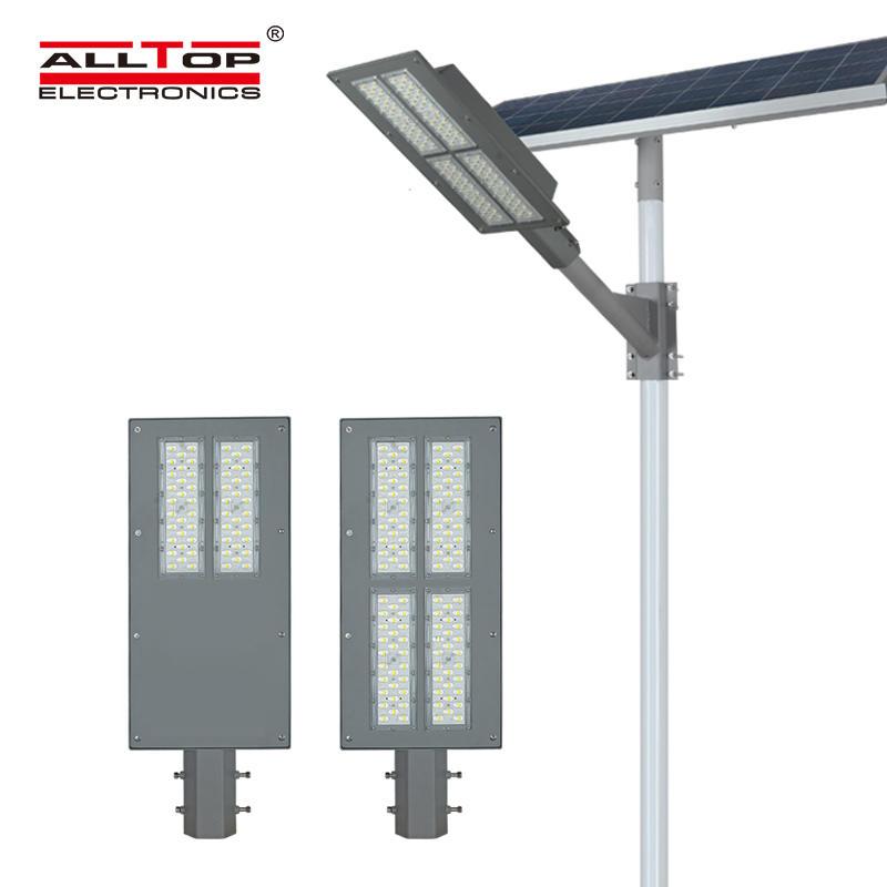 ALLTOP Super brightness aluminum road lighting ip65 waterproof 90w180w solar led garden light