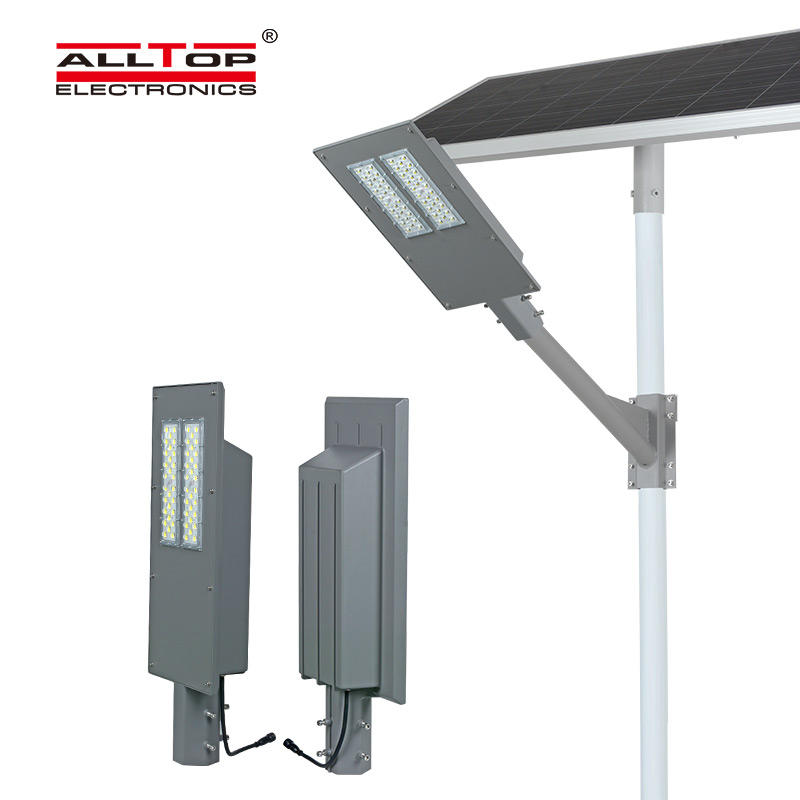 ALLTOP High brightness sensor ip65 waterproof outdoor 90w 180w led solar street light