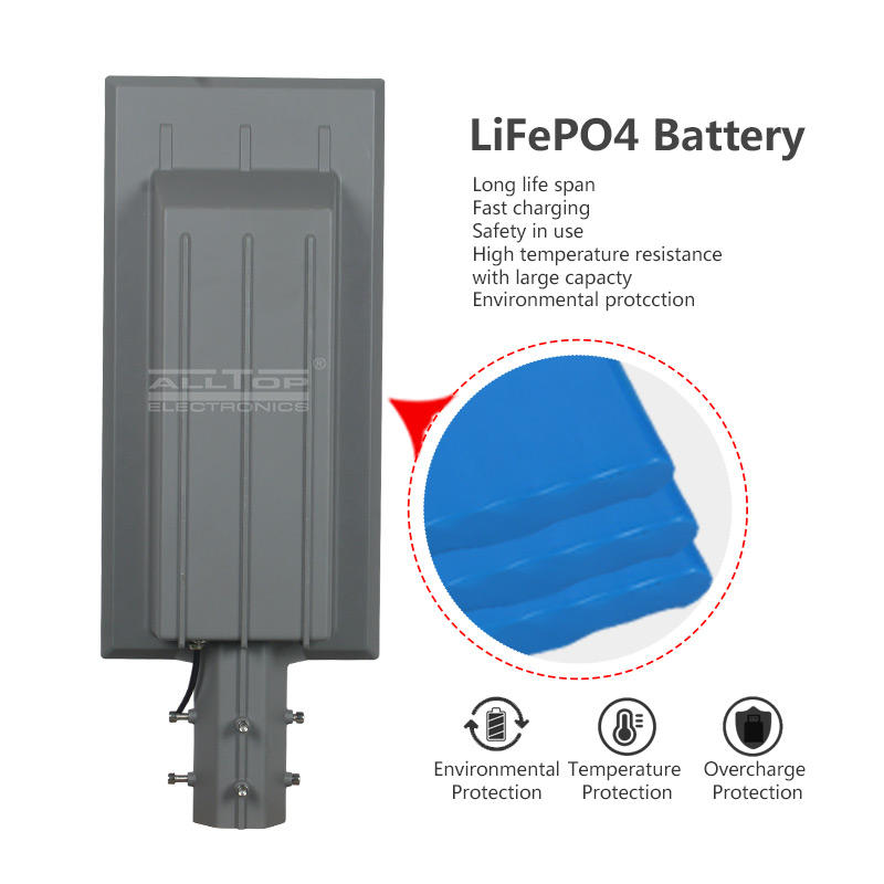 ALLTOP Hot sale outdoor street lighting ip65 waterproof smd 90w180w solar led garden lamp