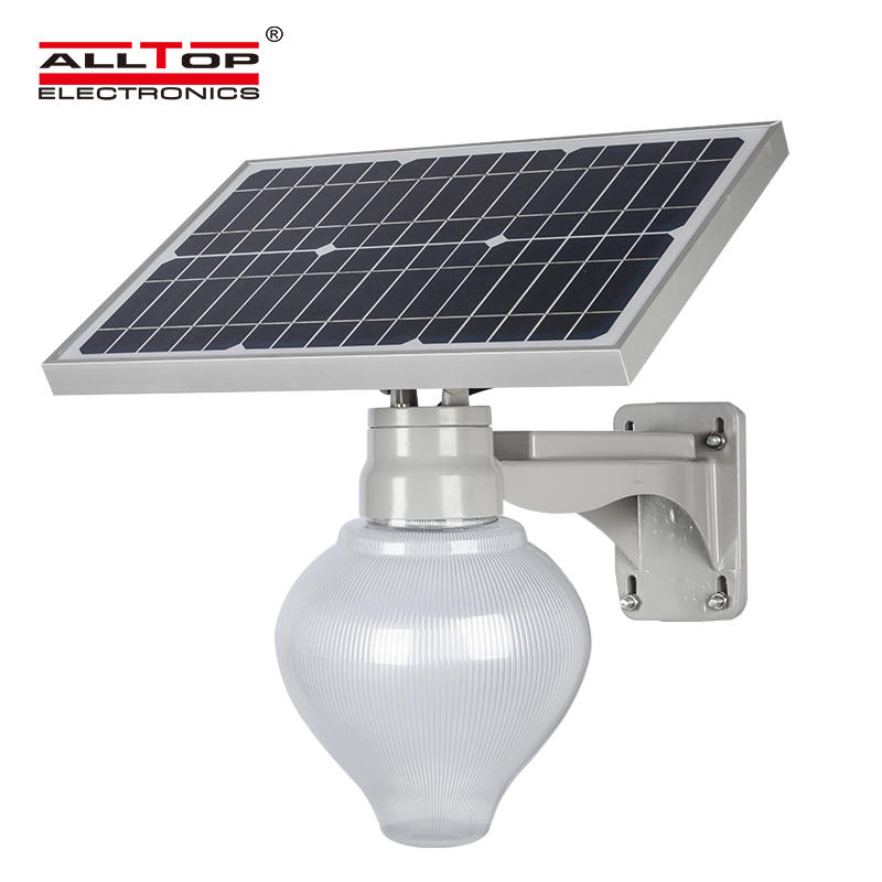 20W outdoor aluminum integrated solar all in one led street light