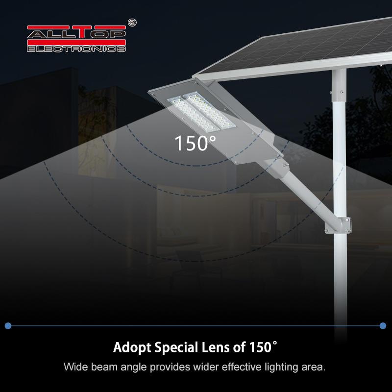ALLTOP High power aluminum cast ip65 waterproof outdoor 90w180w solar led garden light