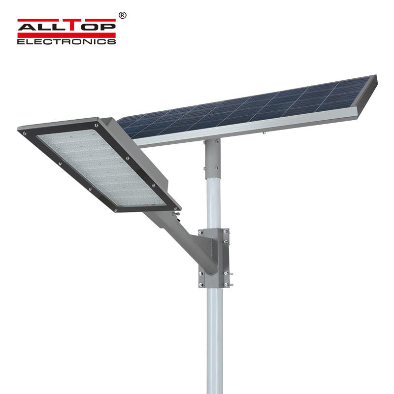 ALLTOP High quality outdoor waterproof ip65 pole installation 180w led solar street light