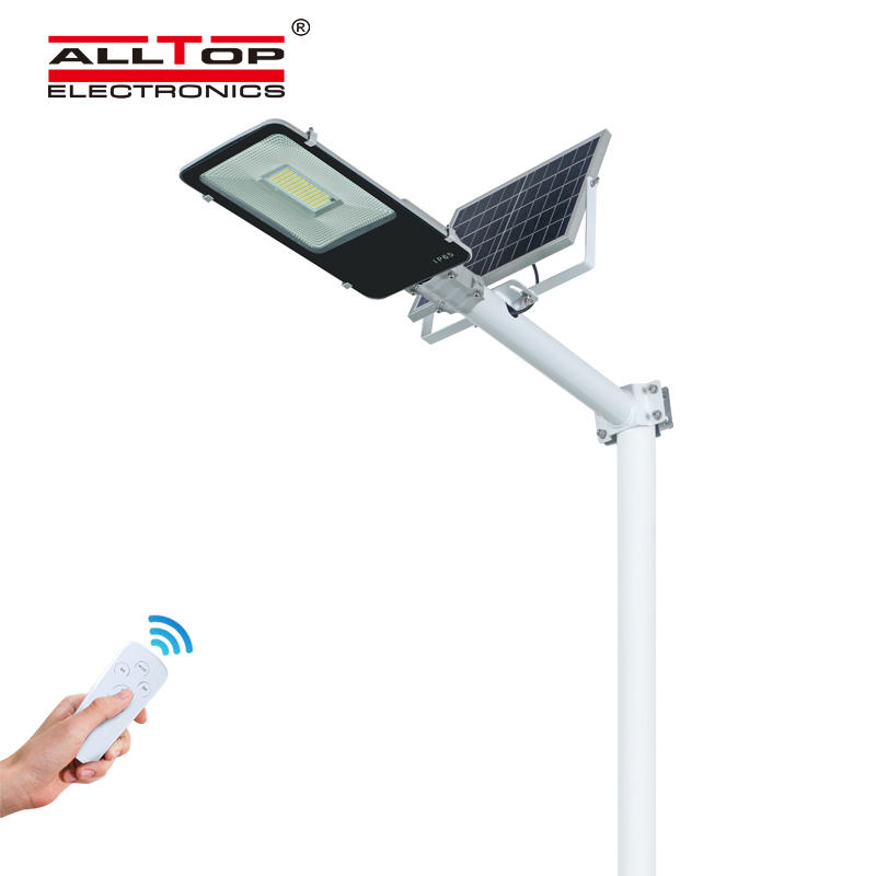 ALLTOP Energy saving SMD waterproof ip65 outdoor lighting 100w model led solar street light price