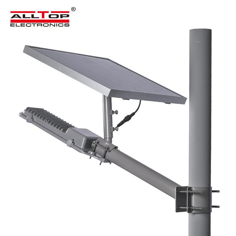 High lumen Integrated solar panel Waterproof IP65 12w 24w 48w 64w led street light