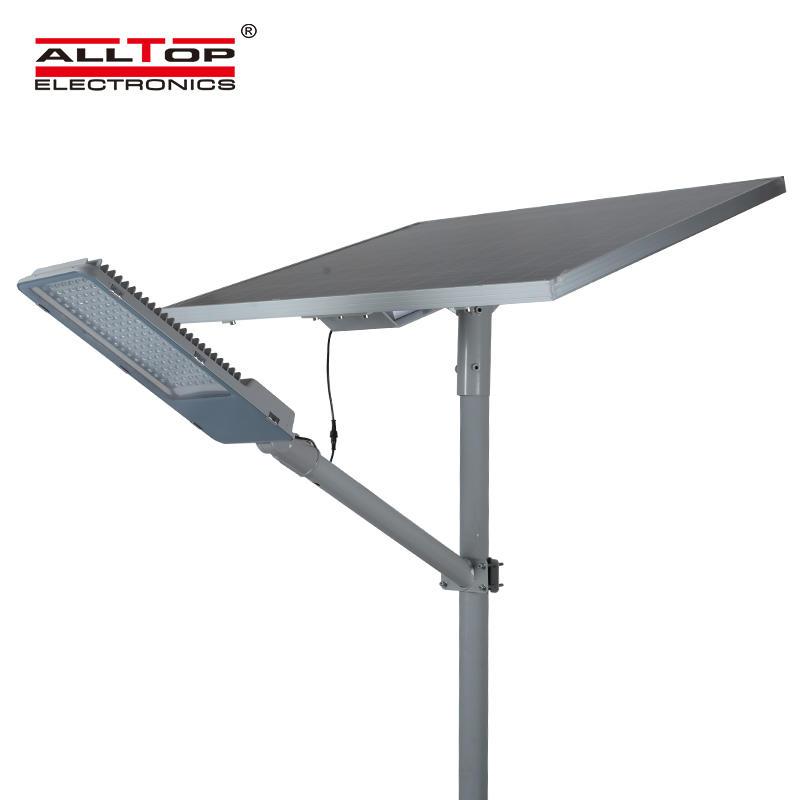 ALLTOP High power garden waterproof outdoor integrated 90w 120w 150w 180w IP65 solar led street light