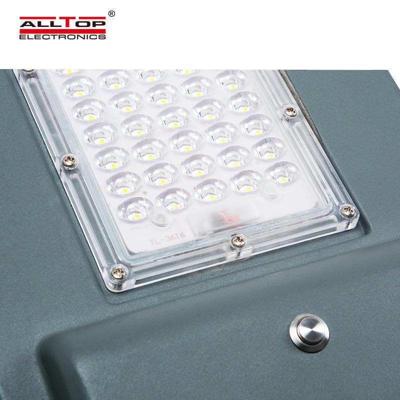 ALLTOP Road lamp manufacturers ip65 aluminium housing 40w 90w solar led street light