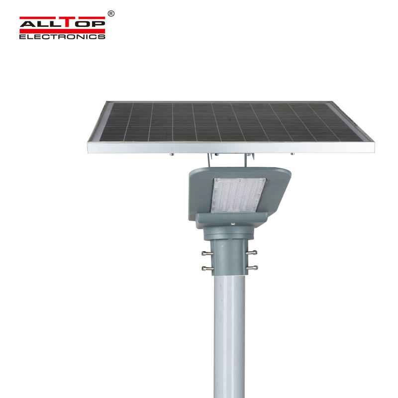 ALLTOP New product integrated garden IP65 outdoor lighting 40w 90w led solar street light price