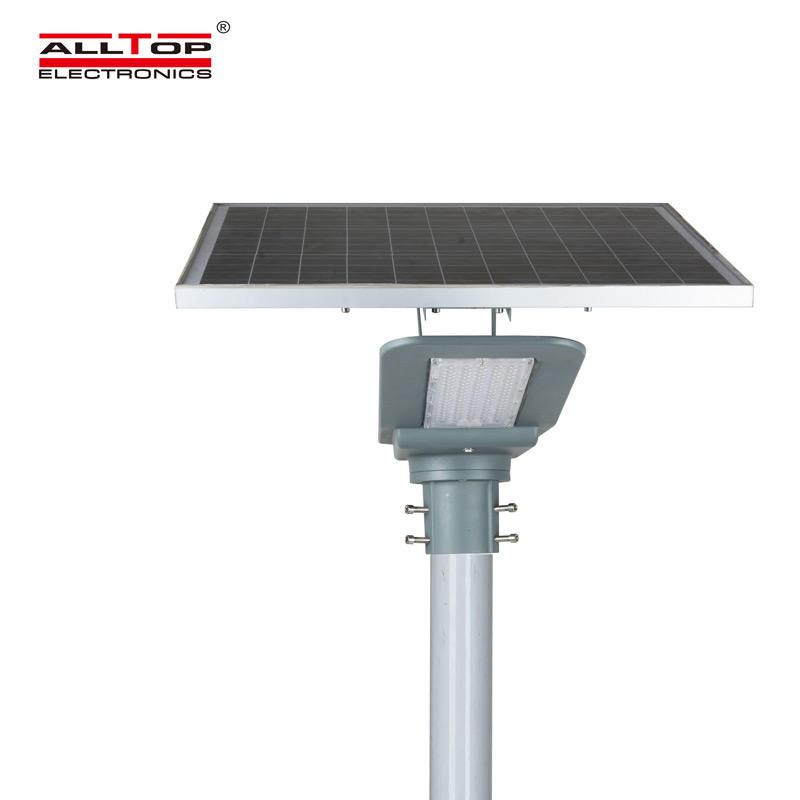 ALLTOP New product integrated garden IP65 outdoor lighting 40w 90w led solar street light price