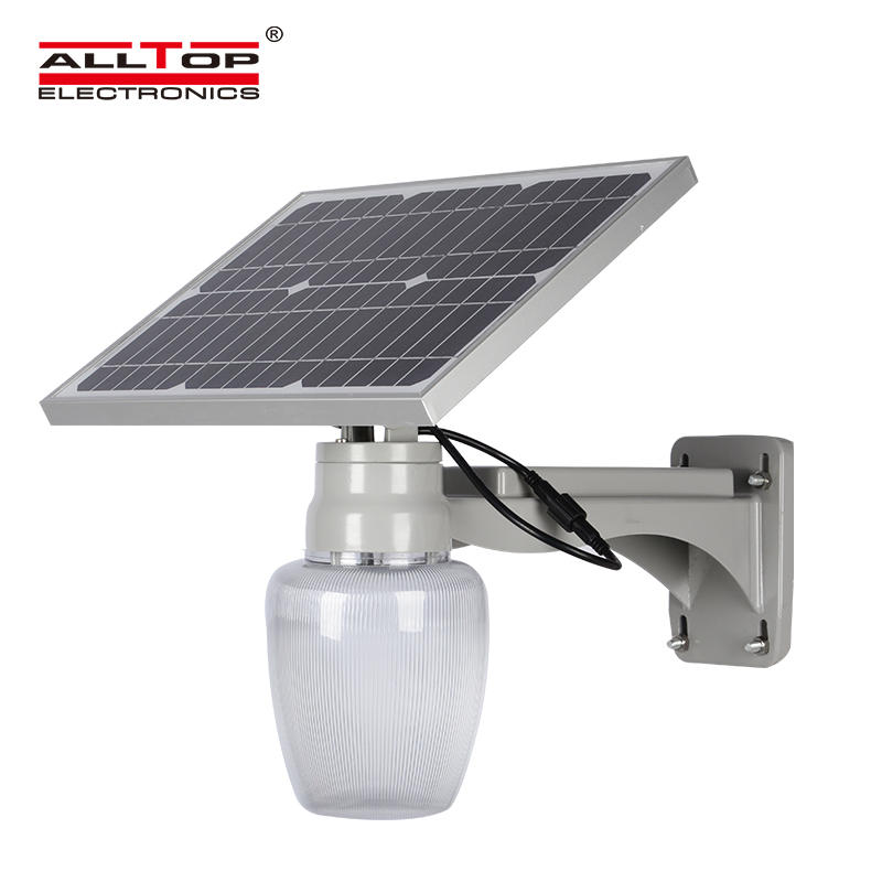 Factory price die cast aluminum solar all in one led street light 15w