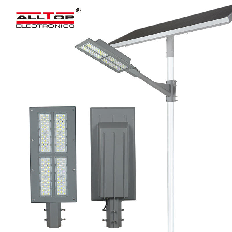 ALLTOP Bridgelux smd waterproof IP65 outdoor 180w integrated solar panel led street light