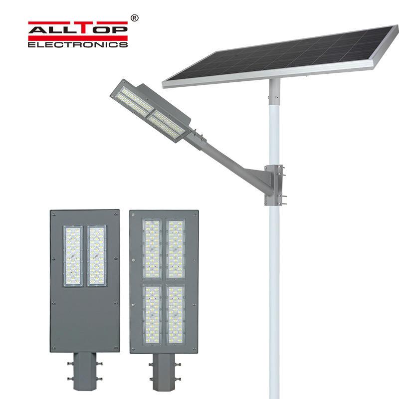 ALLTOP Super brightness waterproof road lighting ip65 smd 180w solar led street lamp