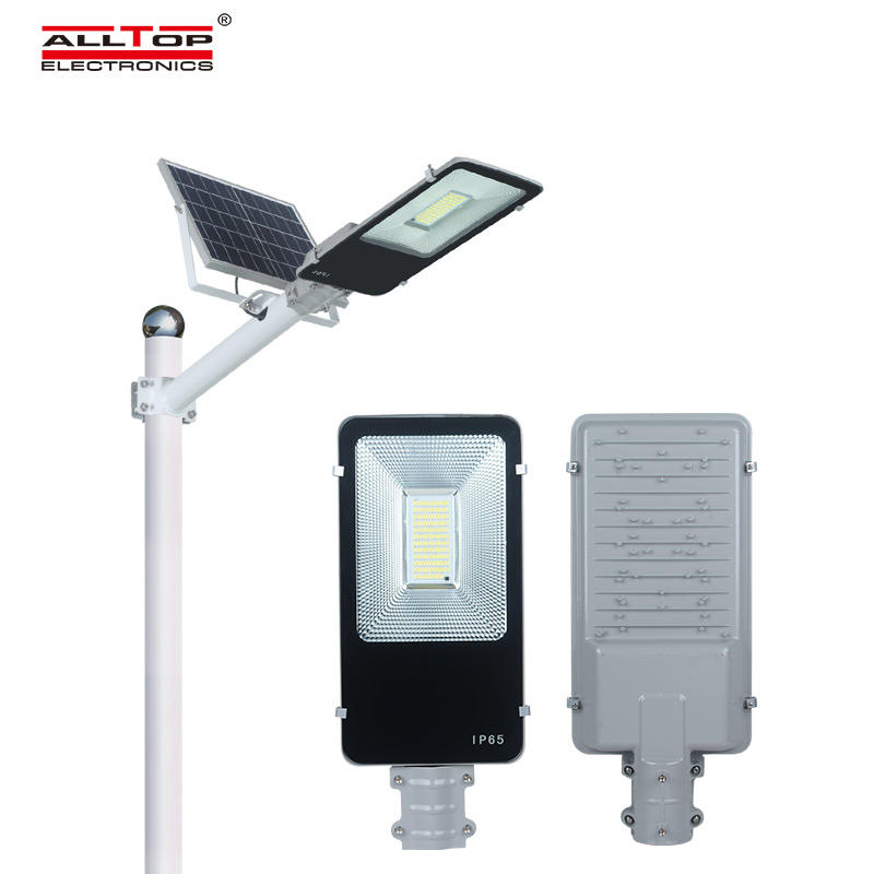 ALLTOP Integrated 100watt ip65 outdoor waterproof remote control solar led street lamp price