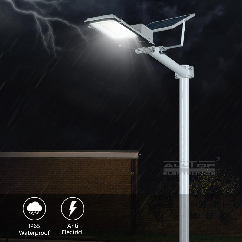ALLTOP Ip65 waterproof energy saving outdoor 300w solar led street lamp