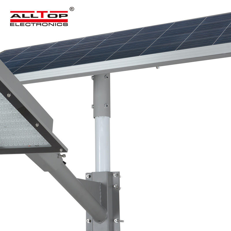 ALLTOP High quality outdoor ip65 waterproof solar panel 180w led solar streetlight