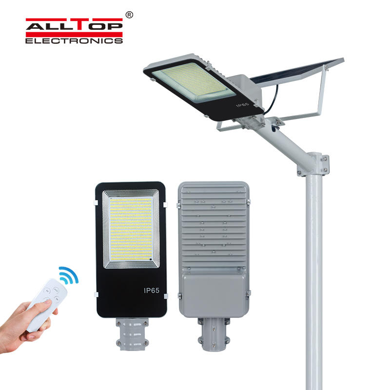 ALLTOP High quality garden lighting Bridgelux smd outdoor ip65 300w led solar street light