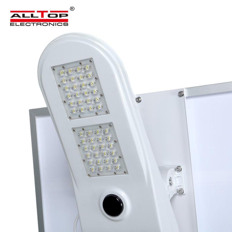 ALLTOP High lumen energy saving ip65 outdoor waterproof 50w led solar powered street light price