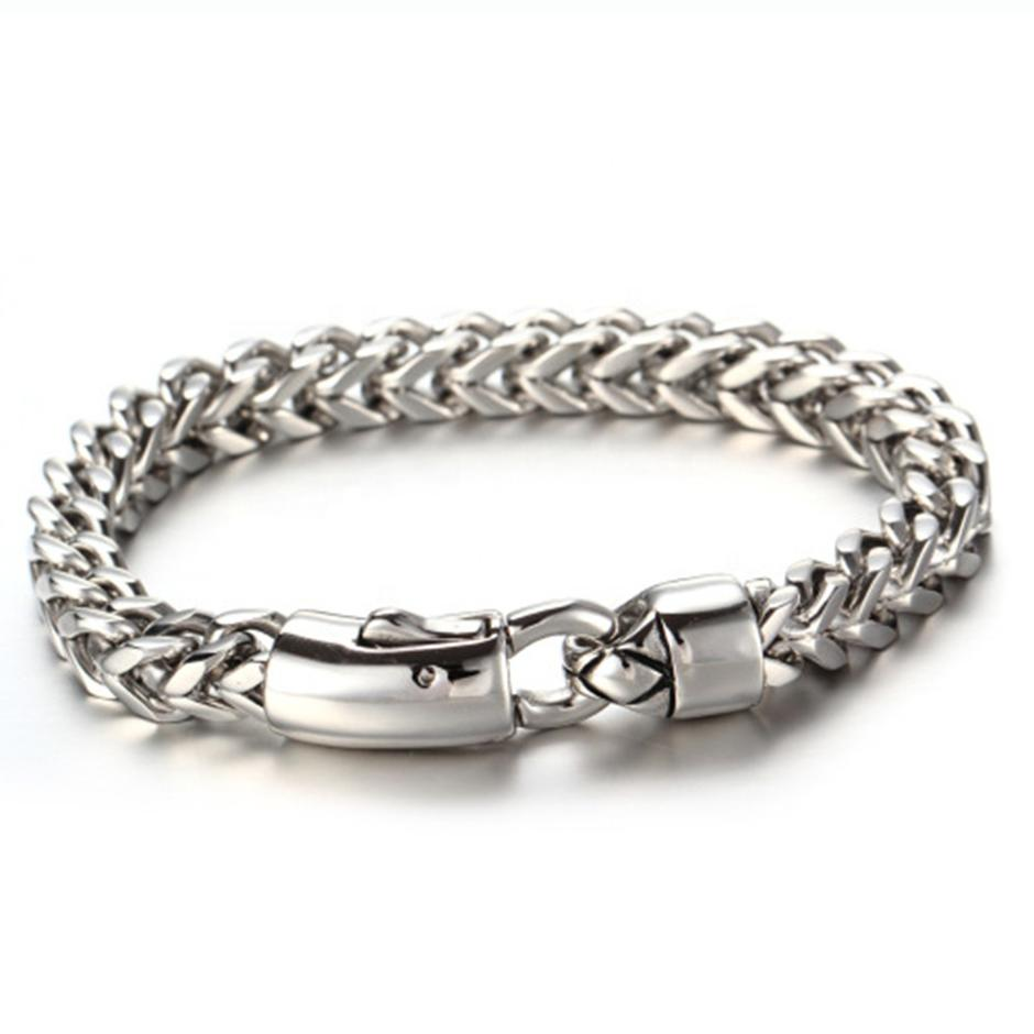 European And American Stainless Steel Bracelet, Men's Accessories Wholesale, Fashion Powerful Keel Bracelet