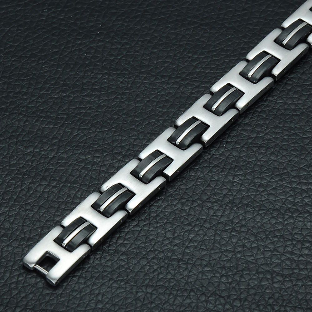 Winter New European And American Stainless Steel Bracelet, 316L Stainless Steel Jewelry Men Bracelet