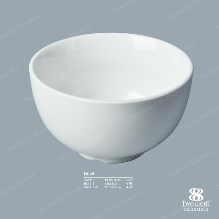 Latest products unique design tableware western ceramic bowl