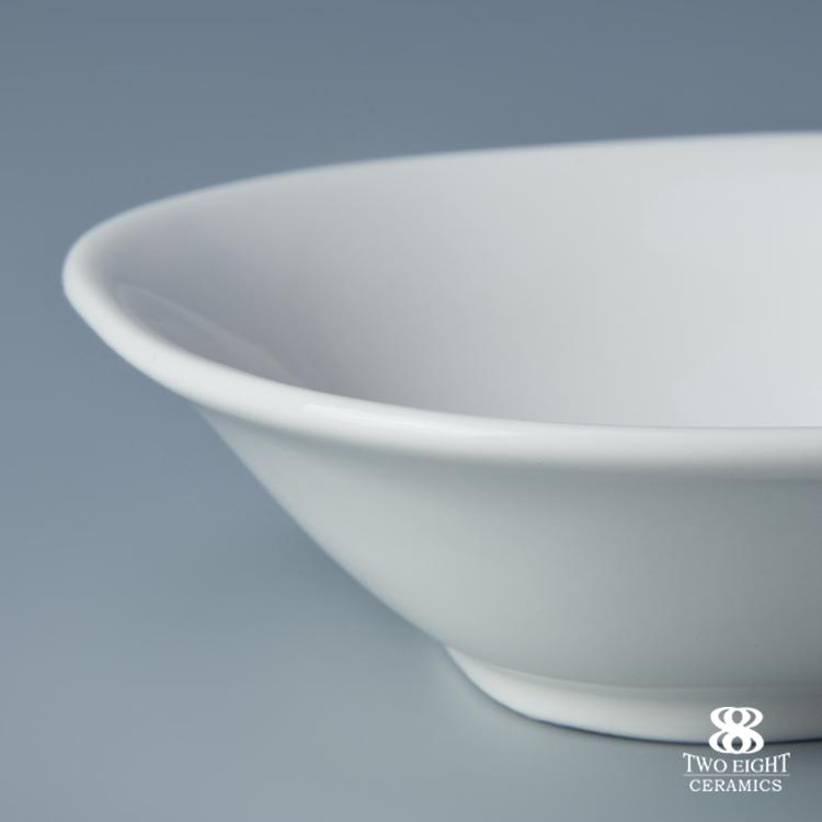 hotel restaurant tableware supplies durable china porcelain bowl