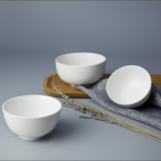 High profile hotel products fine ceramic coconut fruit small porcelain bowls