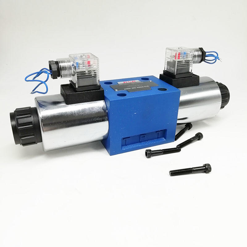 Gas solenoid valve 4WE10E32 Mechanical automation solenoid electric valve24v Solenoid valve