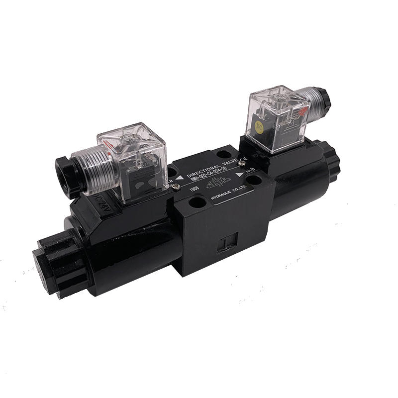 SWH-G02-D24-20 Oil valveplate hydraulic check valve hydraulic solenoid valve
