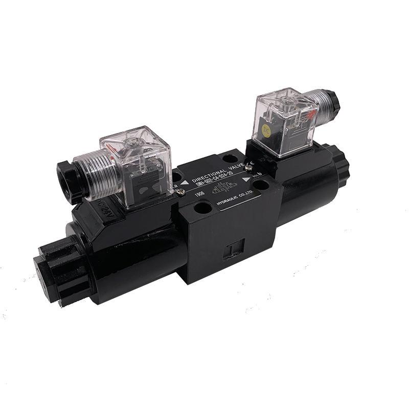SWH-G02-D24-20 Oil valveplate hydraulic check valve hydraulic solenoid valve