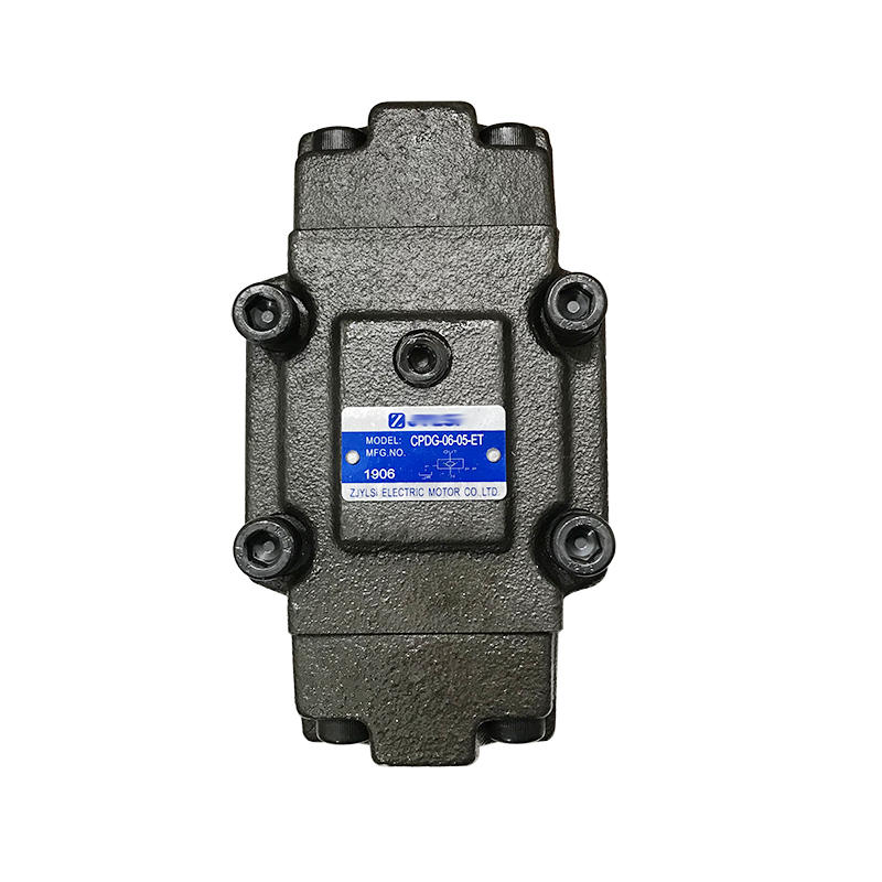 CPDG Series CPDG-06-05-ET Bottom Plate Mounting Iron Pilot Operated Hydraulic Control Check Valve