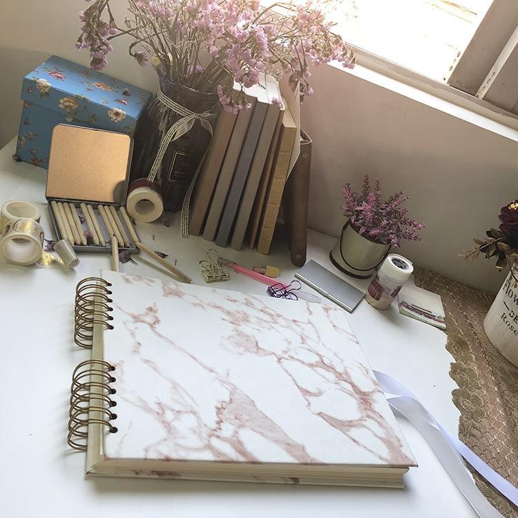 product-DIY Handmade 6x8 Album Scrapbook for Anniversary Wedding Travelling Baby Shower-Dezheng-img-1