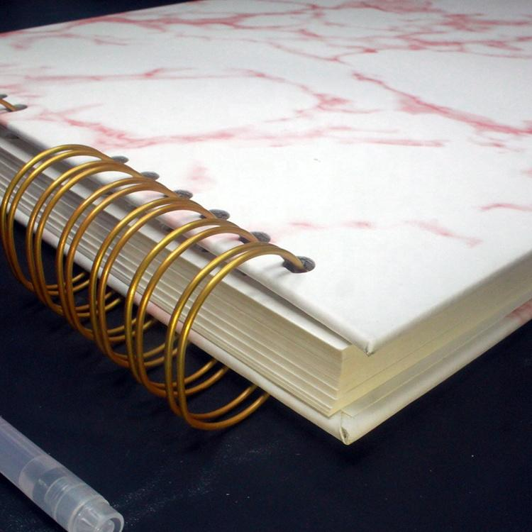 Wholesale High Quality Japanese ScrapbookMarble Pu A4 Photo Album for Wedding