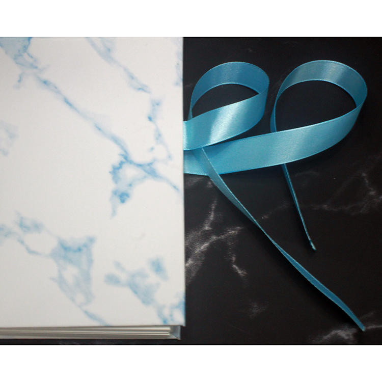 Hardcover Marble Pu Wedding Guest Book Photo Album for 6x4 Pictures