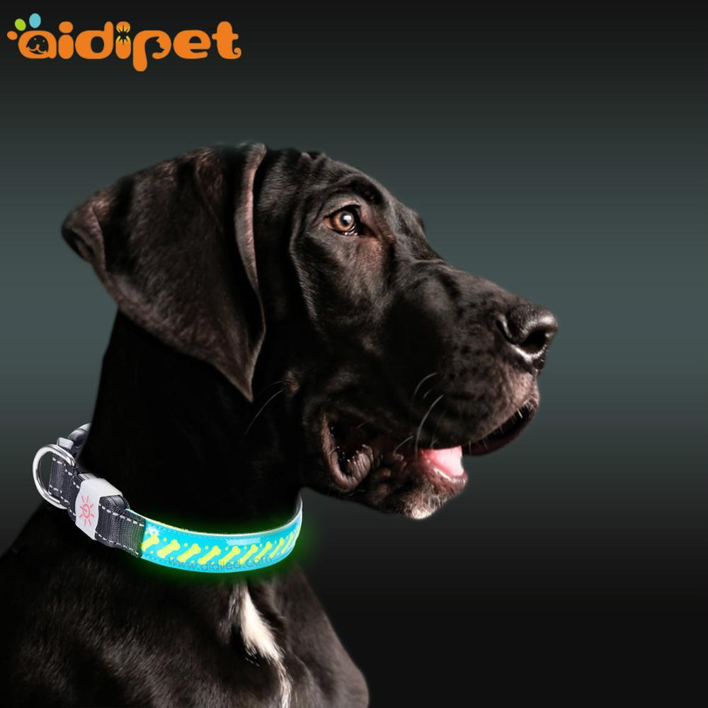 C14 Rechargeable Flashing Led Dog Collar